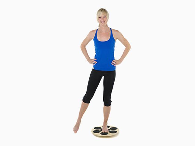 Bein- und Armbewegung