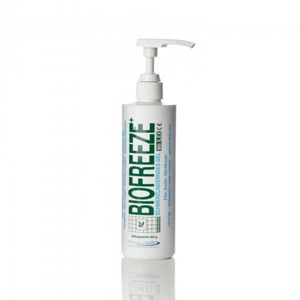 Produktbild Biofreeze - Schmerzgel Spender klein 452 g