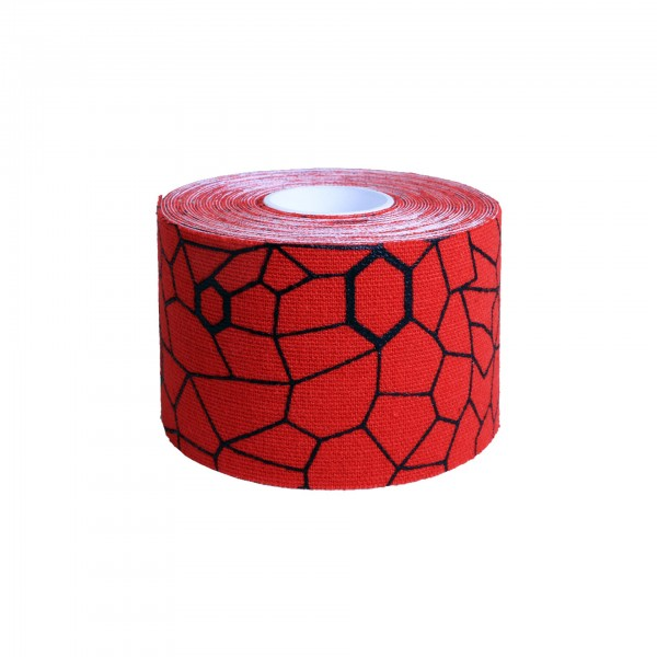 Produktbild TheraBand Kinesiology Tape Rolle 5 m x 5 cm, rot
