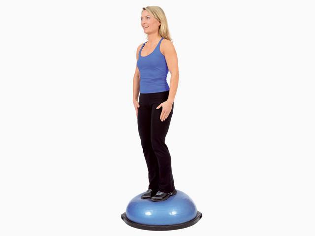 Stand mit Kopf- und Armbewegungen