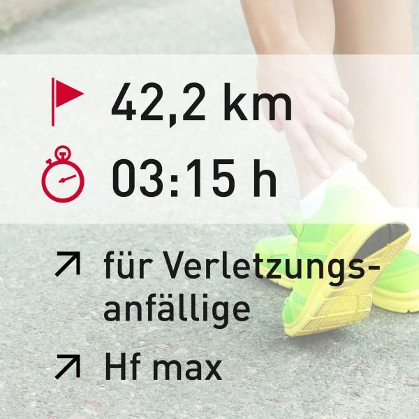 42,2 km - 03:15 h - Herzfrequenz