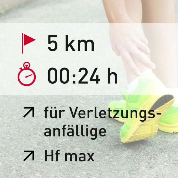 5 km - 00:24 h - Herzfrequenz