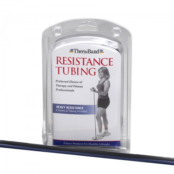 Produktbild TheraBand Tubings im Set 2 x 1,50 m, extra stark + spezial stark