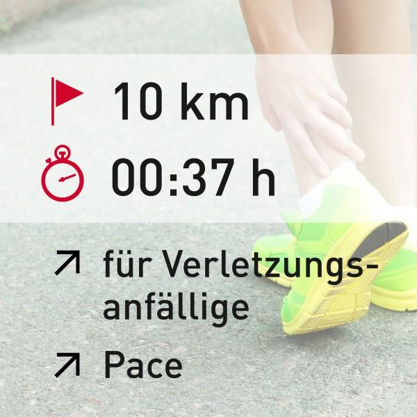 10 km - 00:37 h - Herzfrequenz