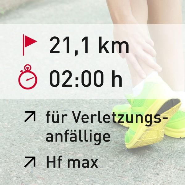 21 km - 02:00 h - Herzfrequenz