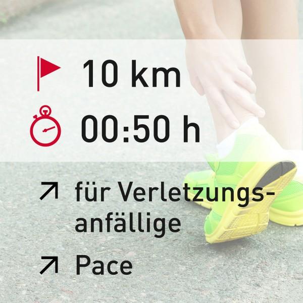 10 km - 00:50 h - Pace