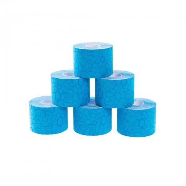 Produktbild TheraBand Kinesiology Tape Rollen-Set 5 m x 5 cm (6 St.), blau