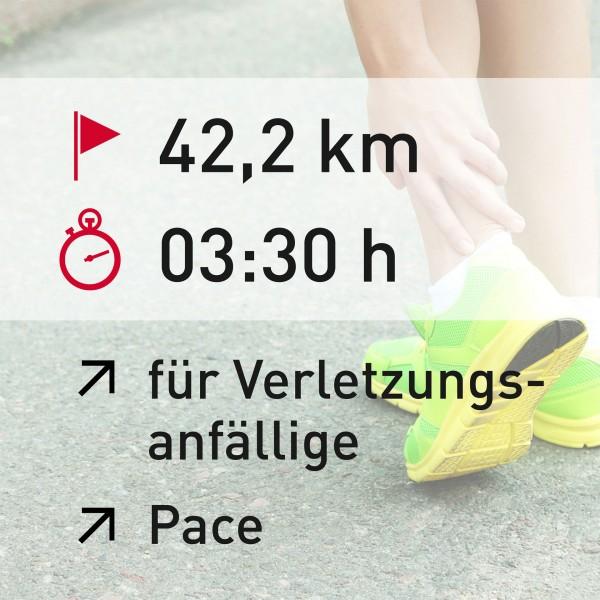 42,2 km - 03:30 h - Herzfrequenz