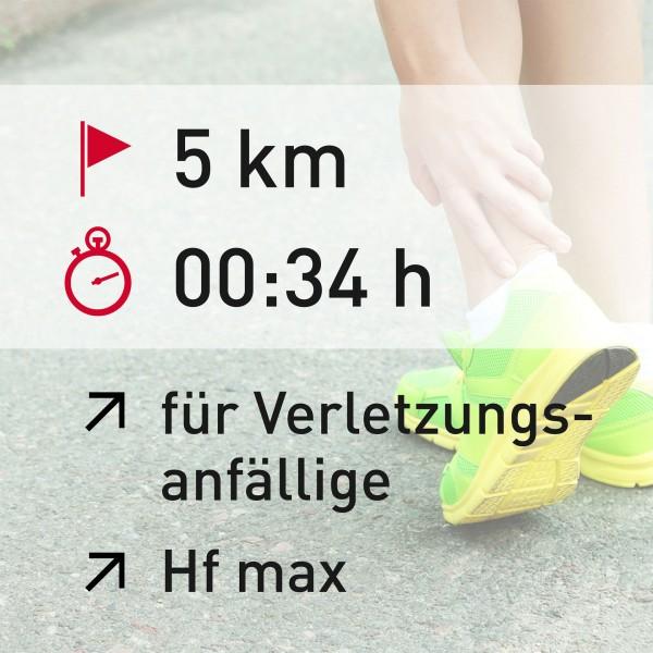 5 km - 00:34 h - Herzfrequenz