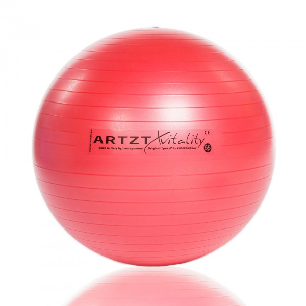 Produktbild ARTZT vitality Fitness-Ball Professional, 55 cm / rot