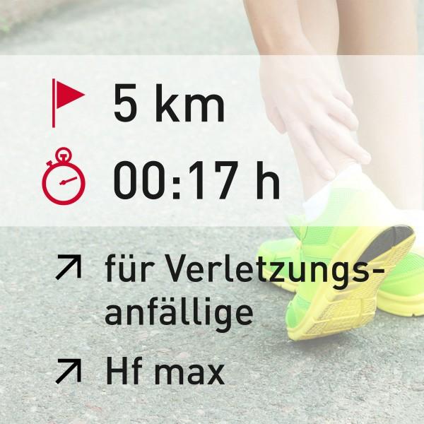 5 km - 00:17 h - Herzfrequenz