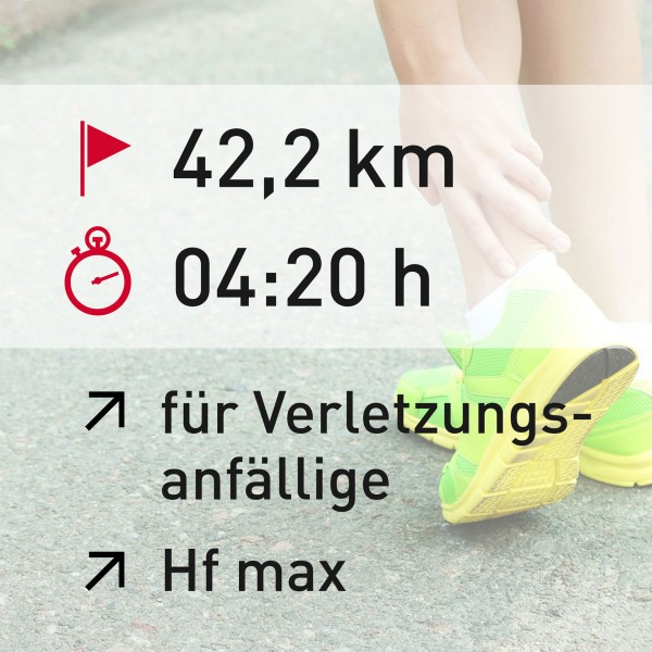 42,2 km - 04:20 h - Herzfrequenz