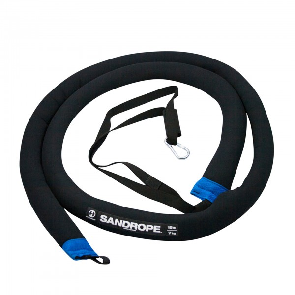 Hyperwear Battlerope SandRope 7 kg, blau