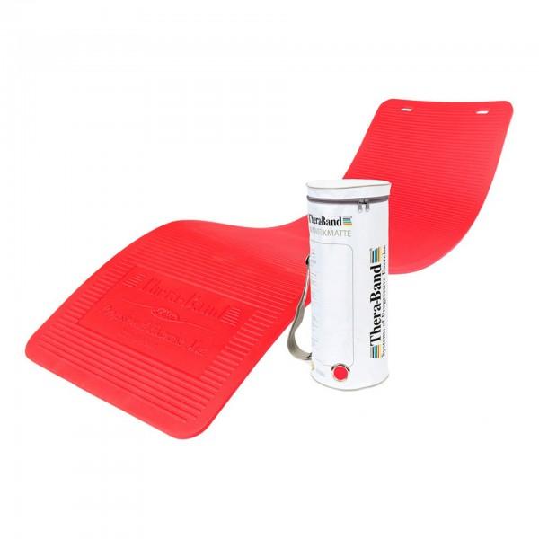 Produktbild TheraBand Gymnastikmatte in RV-Tasche 190 x 60 x 1,5 cm, rot