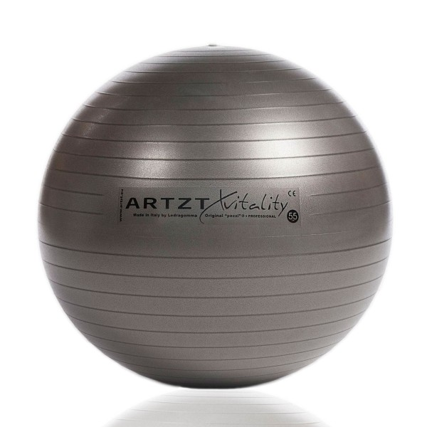 Produktbild ARTZT vitality Fitness-Ball Professional anthrazit, 55 cm