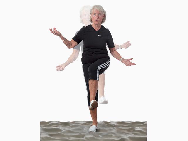 Einbeinstabilisation und Gleichgewicht